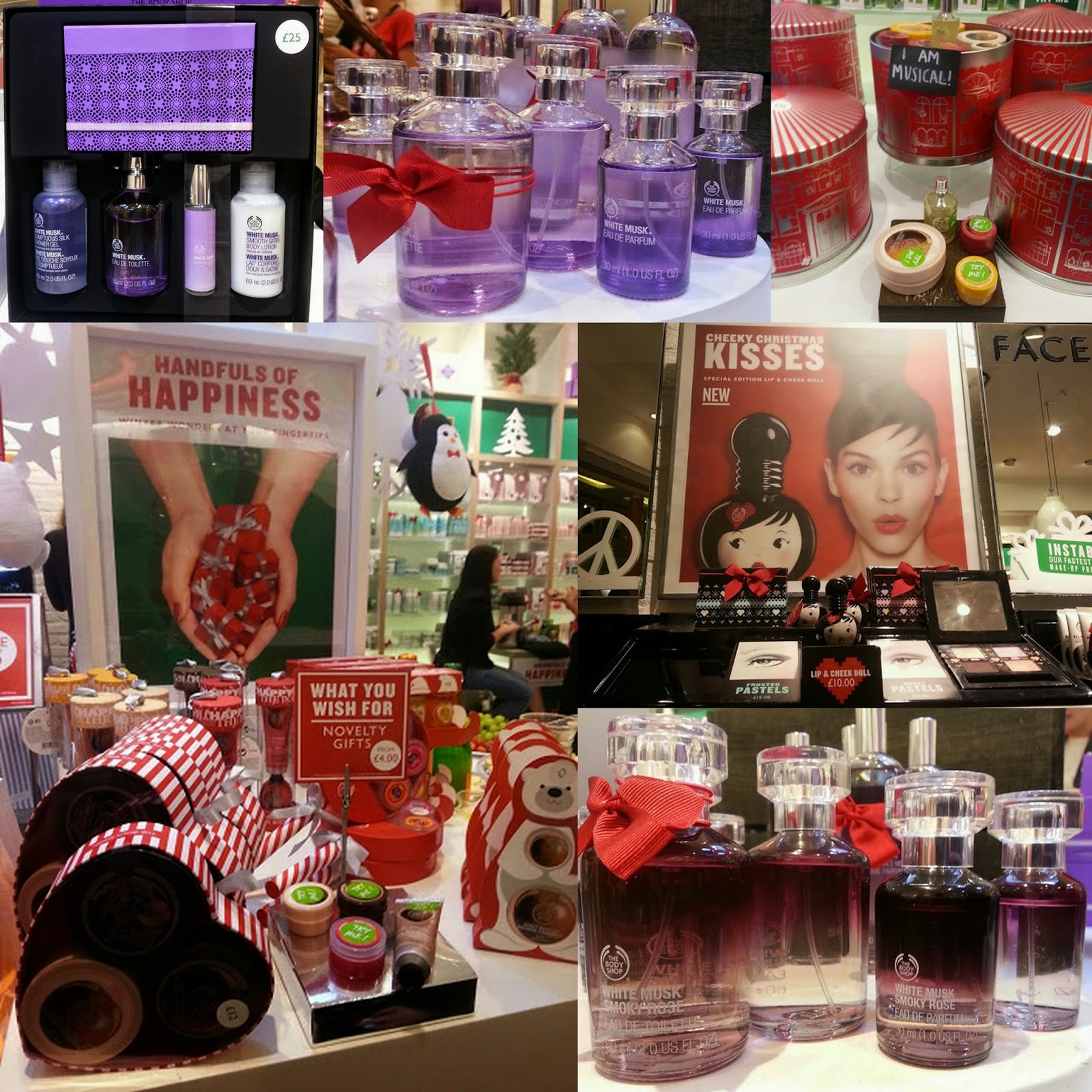 The Body Shop Christmas range 2014