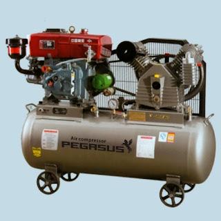 Máy nén khí Pegasus chạy dầu Diesel