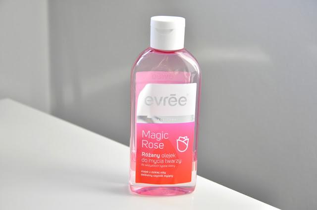 różany olejek do zmywania makijażu evree magic rose
