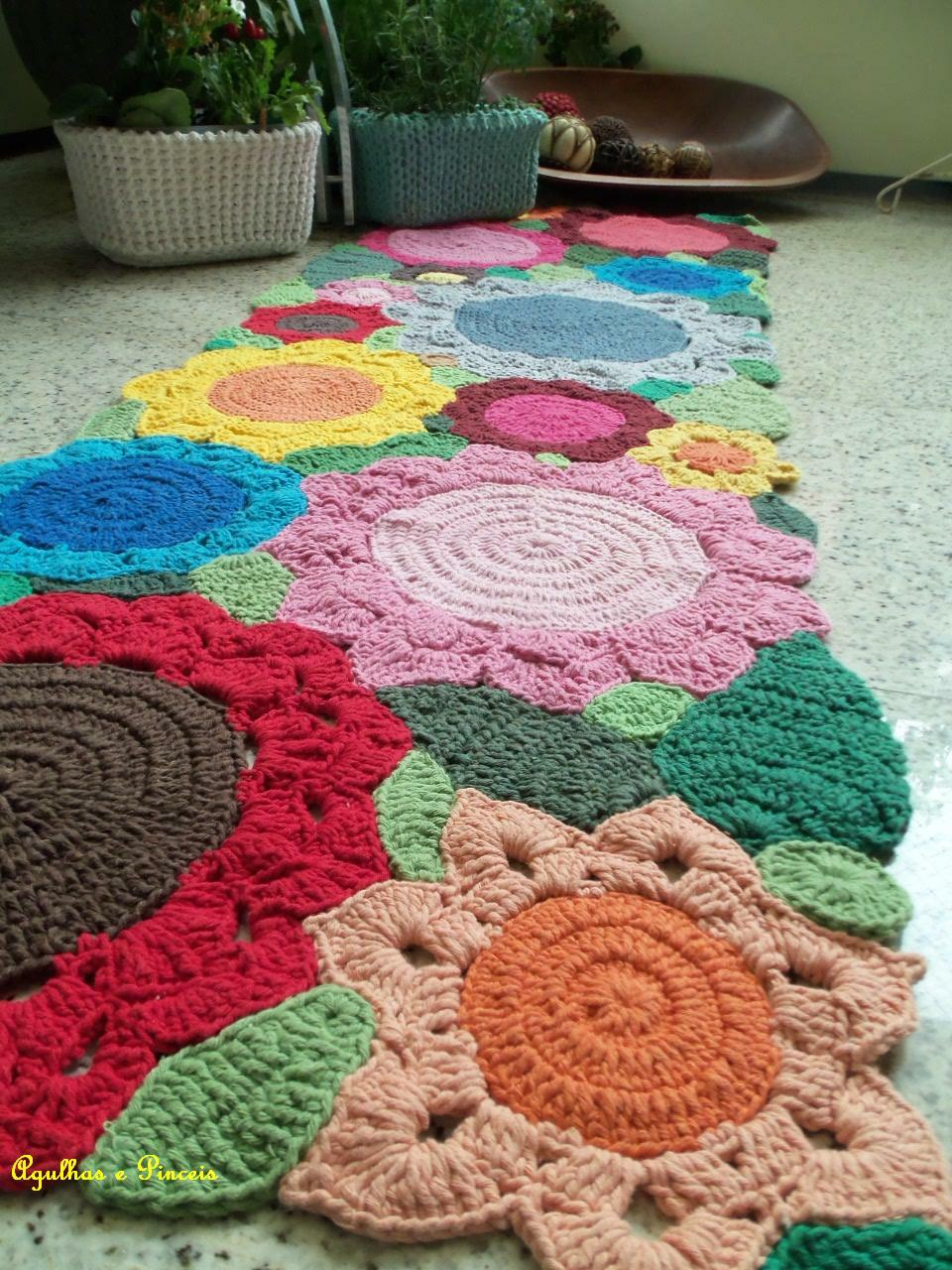 em rita desastre crochet alfombras para so ar. Black Bedroom Furniture Sets. Home Design Ideas