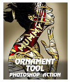 \ ornatooP - Concept Mix Photoshop Action