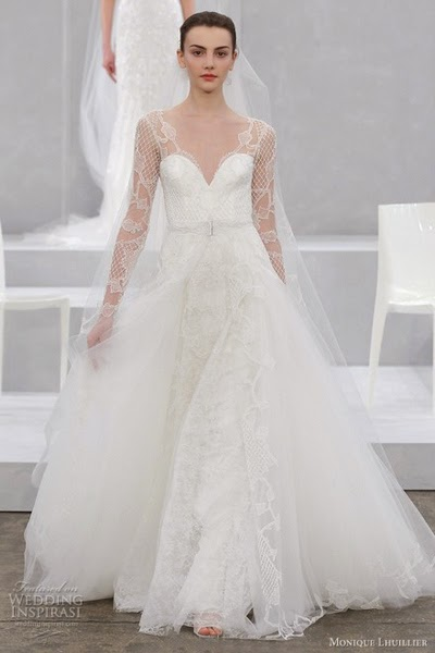 Top 4 Monique Lhuillier Wedding Dress In 2015 Conseils De Mode
