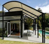 model kanopi rumah sederhana