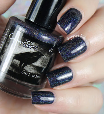 Crowstoes Nail Color Darkhearted
