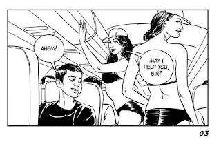 pingin Lihat pramugari pakai bikini, baca komik Ini dulu biar nggak nyesal - asli lucu banget!