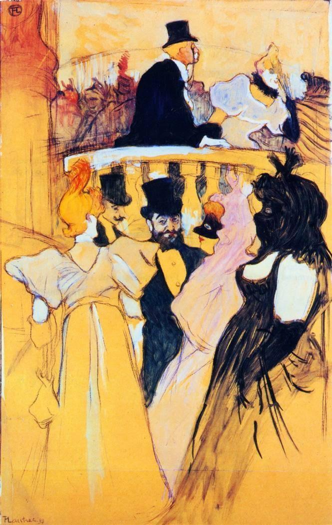 En El Baile De La ópera