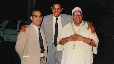 الكاتب محمد الخدير والحاج يونس ومحمد فويتح
