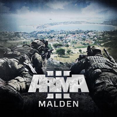 Arma3の無料DLCのMalden 2035