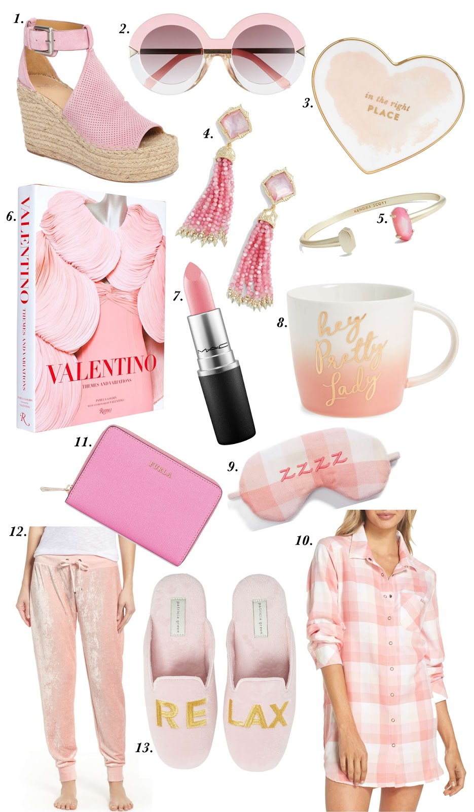 25 Pink Things - Click through to see the full list on Something Delightful Blog