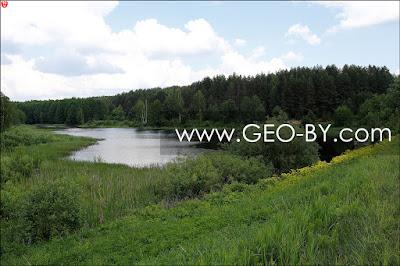 Безымянное озеро у Свериново