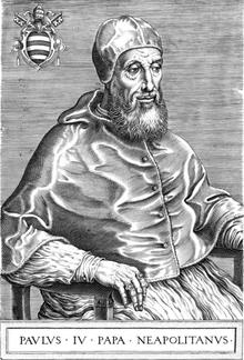 Paul IV (1555 - 1559)