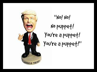 Donald Trump Putin's Puppet Bobblehead