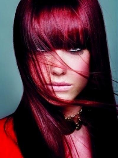 colores rojizos para pelo largo 2015