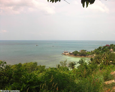 Koh Phangan mountain view Haad Son
