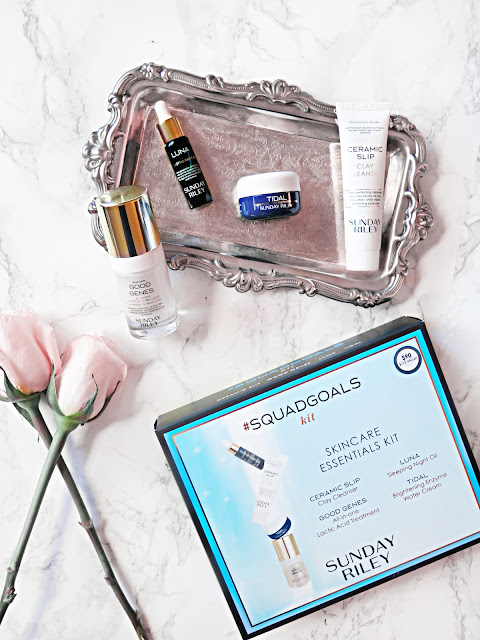 #SkincareGoals | The PERFECT Gift For A Skincare Addict | Sunday Riley #SquadGoals Skincare Essentials Set | labellesirene.ca