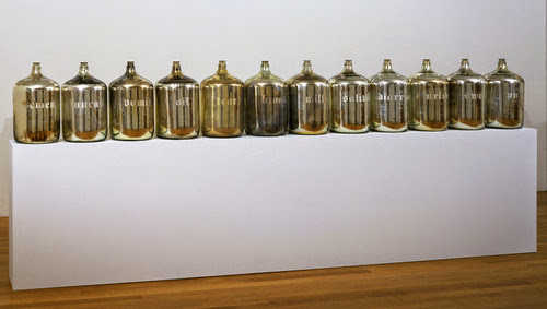 serie de botellas
