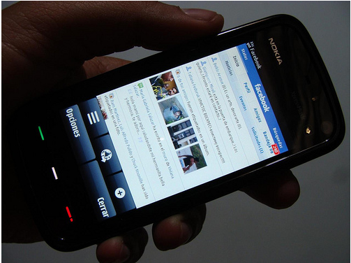 Facebook Login in Mobile Phone
