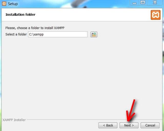Cara Instal XAMPP - 4