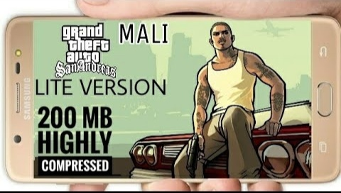 200 MB Gta San Andreas Lite Version | Mali | Nought & Any