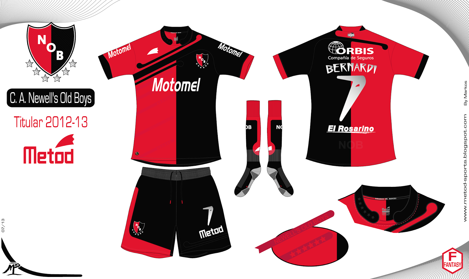 Newells Picture: Metod Sports: Newell's Old Boys 2012-13 Metod