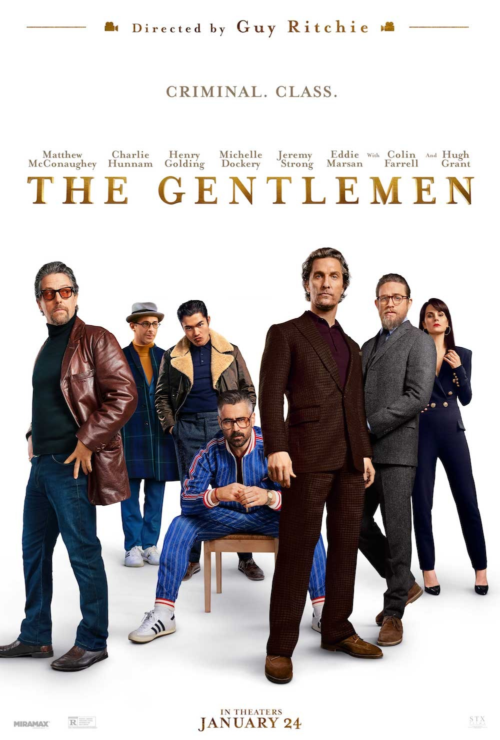 The gentlemen en el fancine