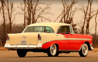 1956 Chevrolet Bel Air 4-Door Rear