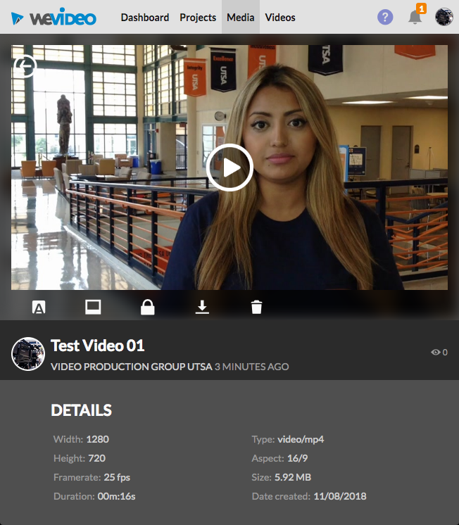 Video Production for Students Part 9: Publish and Share WeVideo