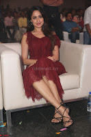 Pragya Jaiswal in Stunnign Deep neck Designer Maroon Dress at Nakshatram music launch ~ CelebesNext Celebrities Galleries 136.JPG