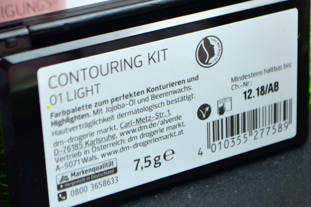 Alverde Sortiment 2017 - Professional Contouring Kit Light