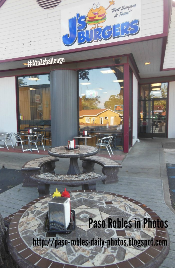 J's Burgers in Paso Robles - A Review