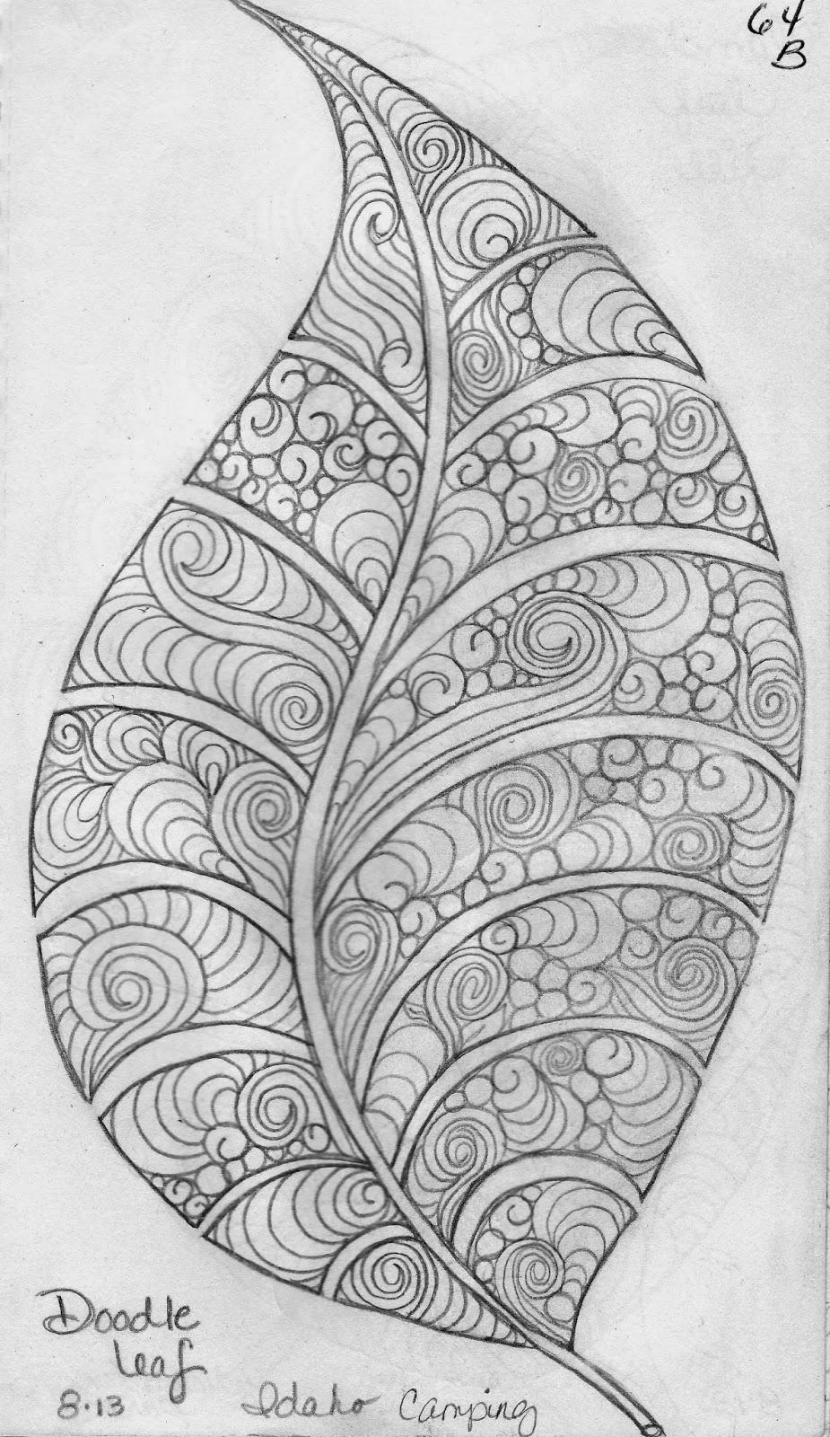 LuAnn Kessi Sketch BookLeaf Designs 5