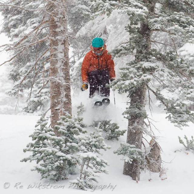 RE Wikstrom snow photography ski women