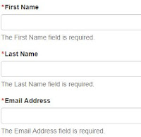 WFFM form without Validation Summary Messages