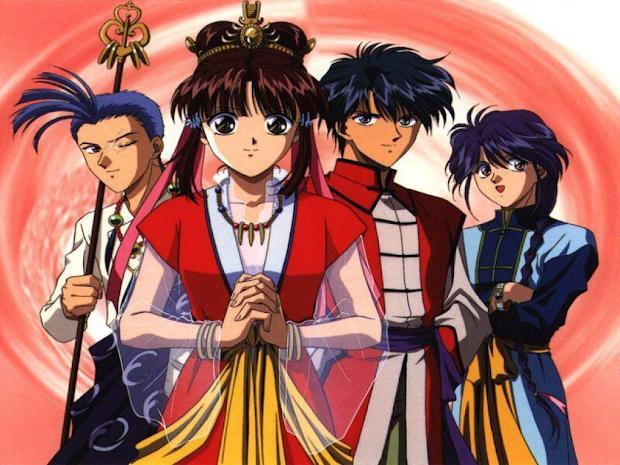 classic anime 90s - yu