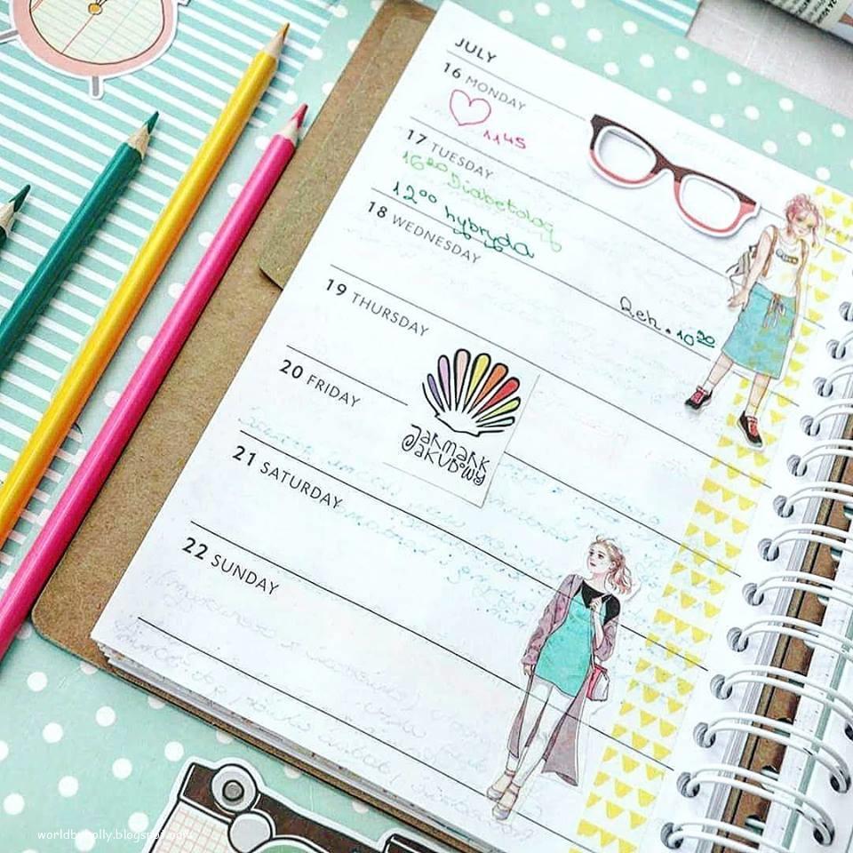 planner, kalendarz, bujo