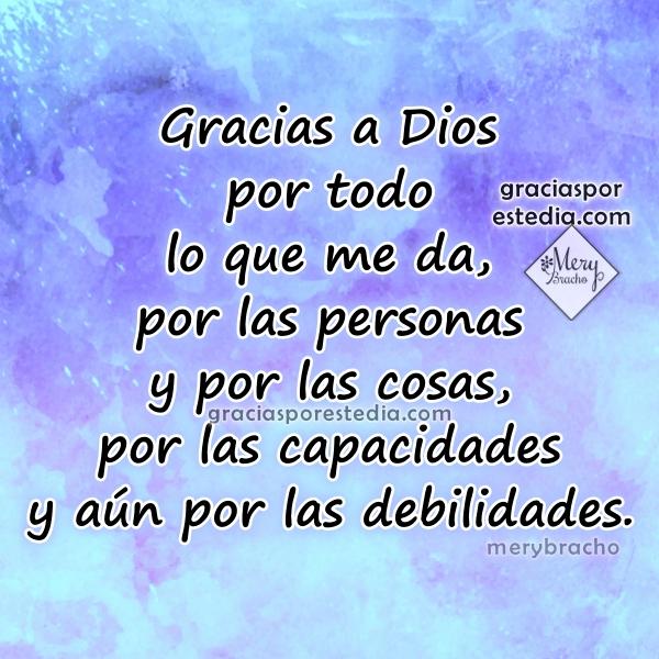 Frases cortas para dar gracias a Dios, acción de gracias, discurso corto de día de gracias, imágenes y mensajes de agradecimiento a Dios por Mery Bracho