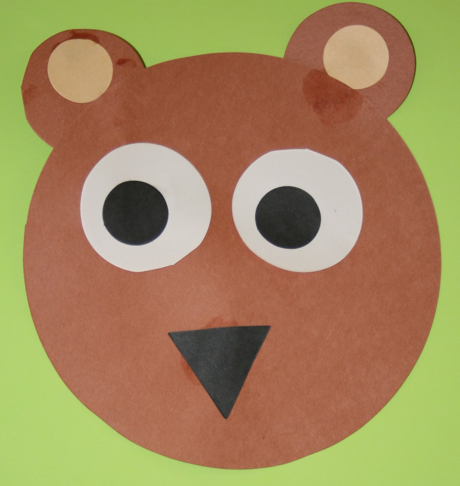 Brown Bear Art And Craft