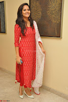 Anusuya in Red at Kalamandir Foundation 7th anniversary Celebrations ~  Actress Galleries 047.JPG
