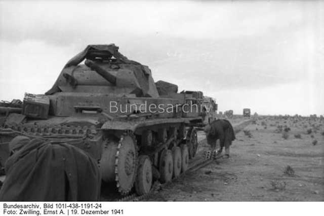 Panzer in North Africa 19 December 1941 worldwartwo.filminspector.com