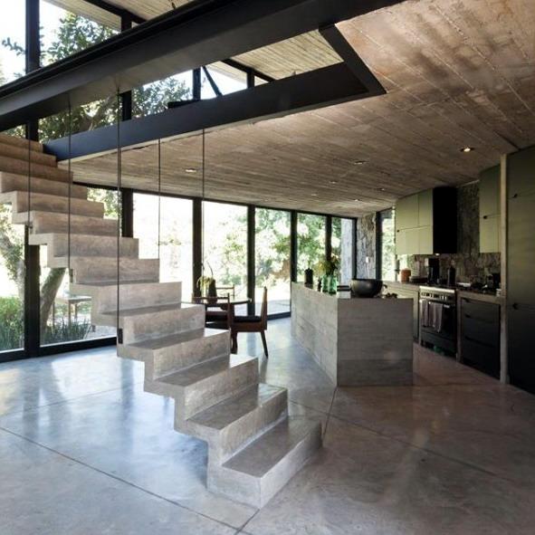 jasa arsitek rumah bangunan rumah industrial