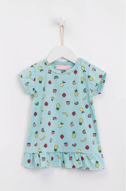 Vestidos de moda para niñas verano 2018.
