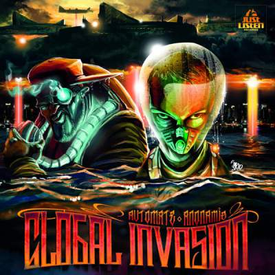 Automate & Anonamis - Global Invasion - Album Download, Itunes Cover, Official Cover, Album CD Cover Art, Tracklist