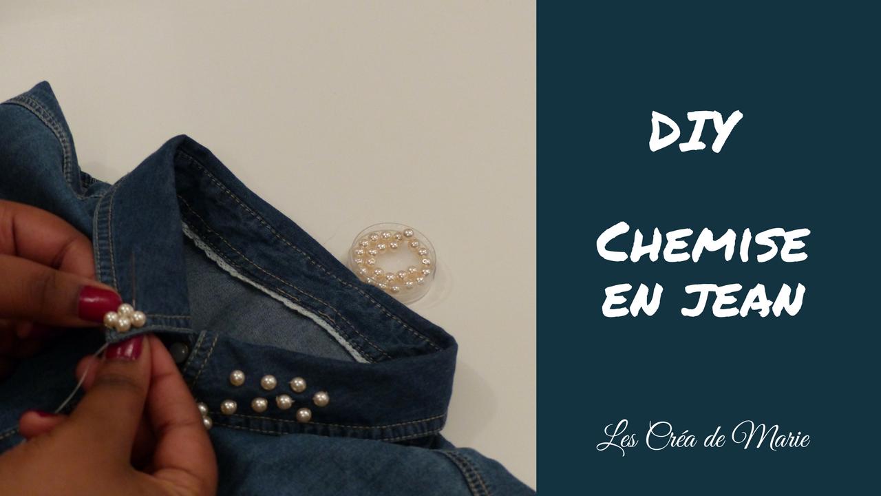 Favorit MCP Les Créa de Marie: Tuto: Comment customiser une chemise en  NA55
