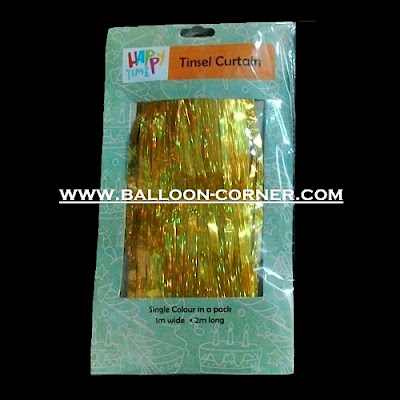 Tinsel Foil Curtain / Tirai Foil (NEW PRODUCT)