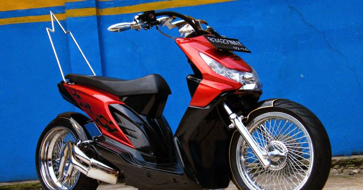 Koleksi Ide Modif Honda Beat Ban Besar Terupdate