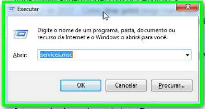 Executar do windowws + R