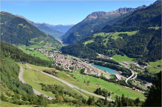 Oberalp Pass – Suiça
