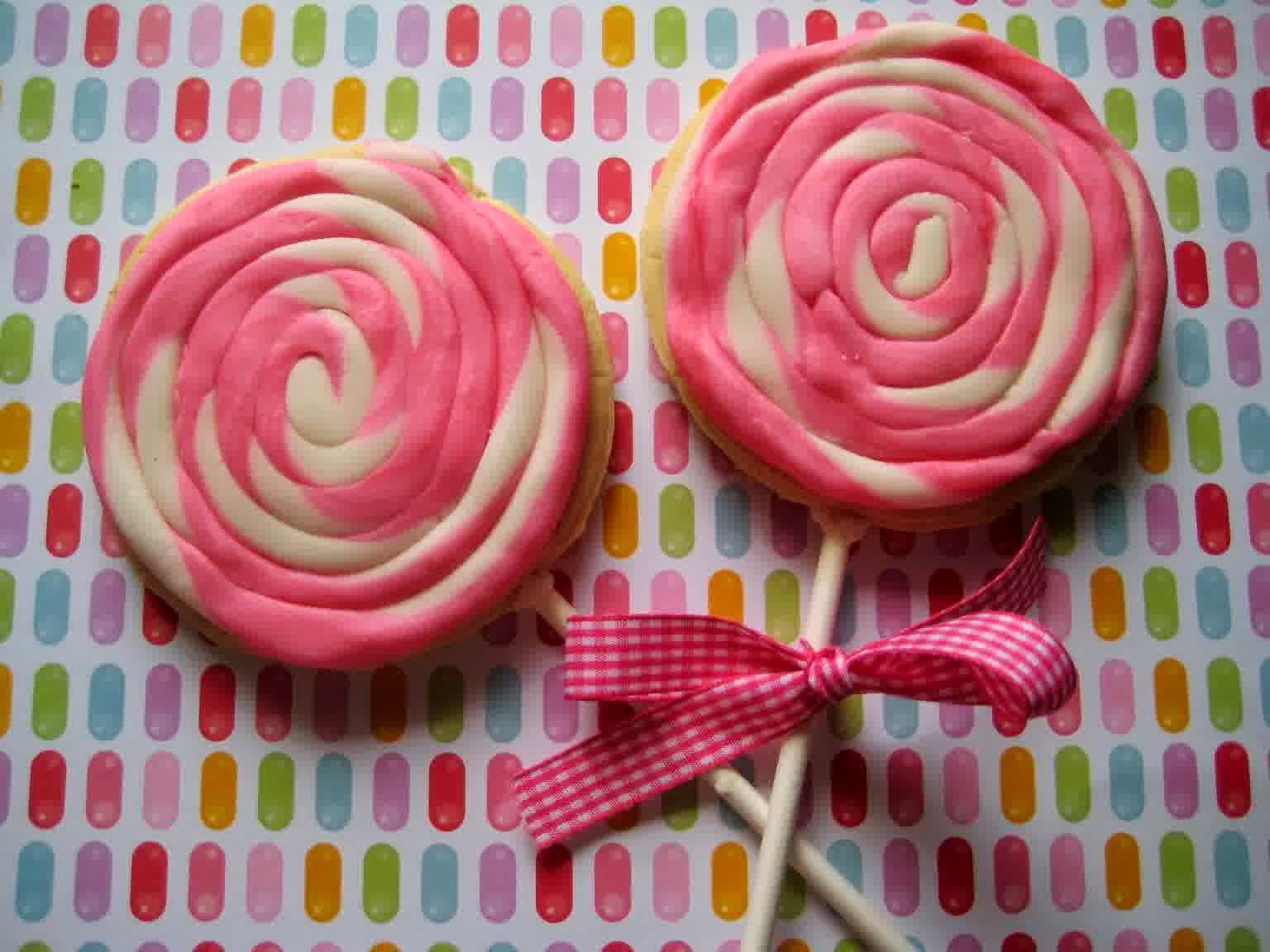 sekarang kami akan berbagi resep nikmat lainnya Resep Permen Lollipop Manis dan Lembut