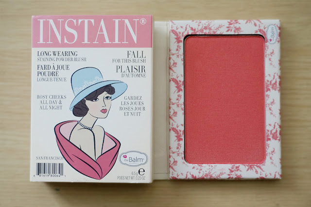 theBalm Instain Long-Wearing Staining Powder Blush in Toile