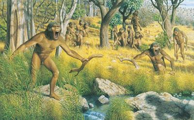 Familia de Australopithecus